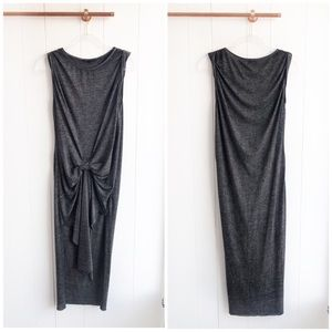 All Saints Riviera Draped Midi Dress